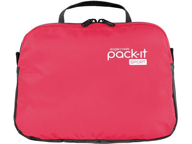 Eagle Creek Pack-It Sport Wet Zip Pouch fuchsia/black